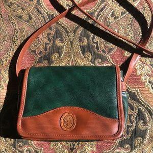 Vintage fall satchel